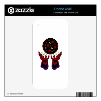 Pizza Demon – Summoner of Deliciousness Decals For The iPhone 4S