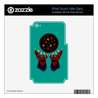 Pizza Demon – Summoner of Deliciousness iPod Touch 4G Skin