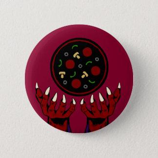 Pizza Demon – Summoner of Deliciousness Pinback Button