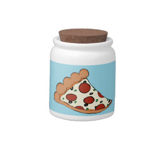 Pizza design candy dishes