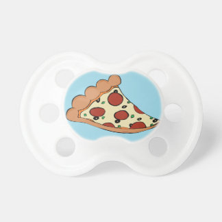 Pizza design pacifier