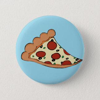 Pizza design pinback button