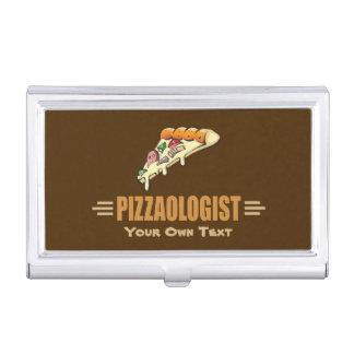 Pizza divertida cajas de tarjetas de negocios