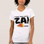 pizza divertida camisetas