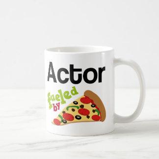 Pizza (divertida) del actor tazas