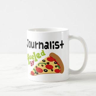 Pizza (divertida) del periodista tazas de café