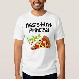Pizza (divertida) del subdirector poleras