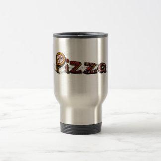 Pizza Doodle Travel Mug
