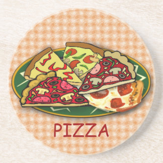 Pizza Drink Coaster