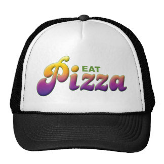 Pizza Eat Hat