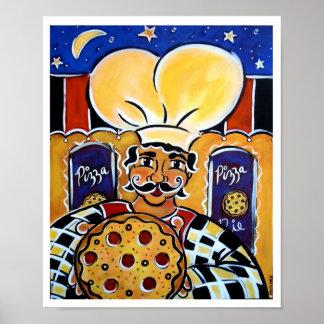 Pizza en enero Oliverio de Gregorios Impresiones