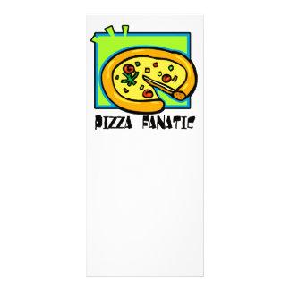 Pizza Fanatic Rack Card