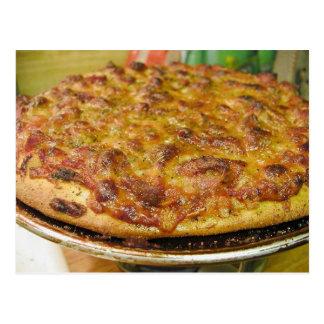 Pizza For Dinner Postcard