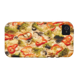 Pizza iPhone 4/4S Carcasas