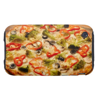 Pizza iPhone 3 Tough Protectores