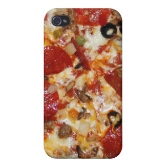 Pizza iPhone 4/4S Carcasas