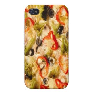 Pizza iPhone 4 Fundas