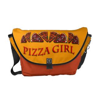 Pizza Girl Messenger Bag