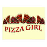 Pizza Girl Post Cards