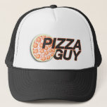 """Pizza Guy Hat   Pizza Delivery Hat<br><div class=""""desc"""">Don&#39;t have hats for your pizza place? Speed up your deliveries through awareness. A pizza guy hat for delivery drivers. Custom Pizza Delivery Hats.</div>"""