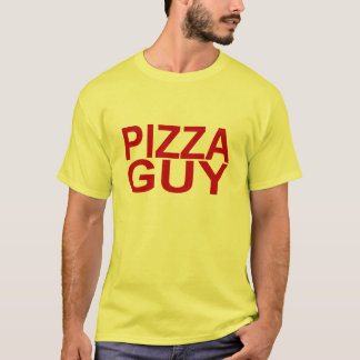 Pizza Guy Red T-Shirt