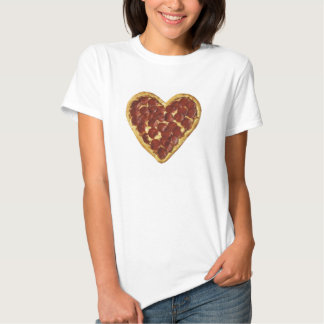 Pizza Heart tee