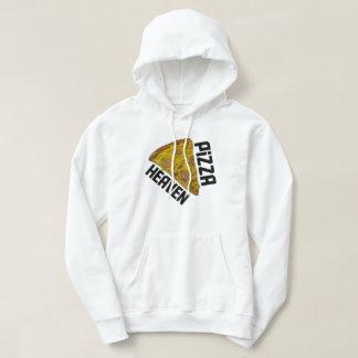 Pizza Heaven White Hoodie