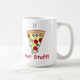 Pizza: Hot Stuff! Coffee Mug