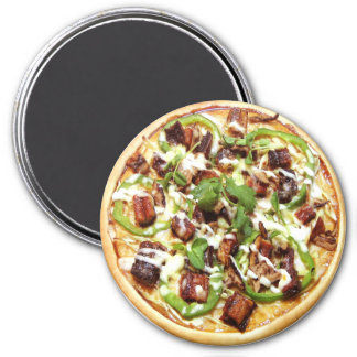 Pizza Imán Redondo 7 Cm