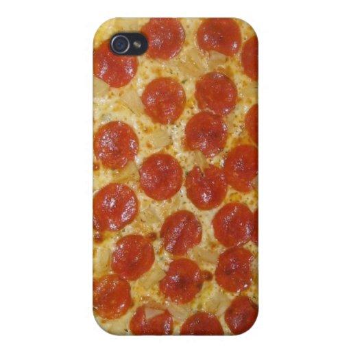 pizza iPhone 4/4S carcasa
