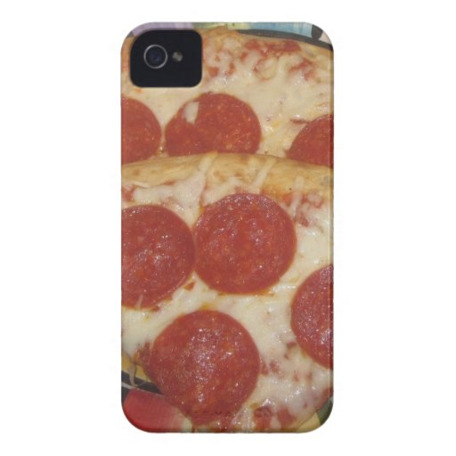 PIZZA iPhone 4 Case-Mate FUNDAS