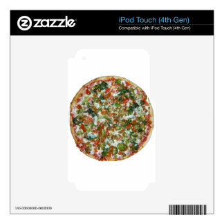 pizza iPod touch 4G decal