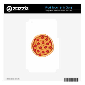 Pizza iPod Touch 4G Skin