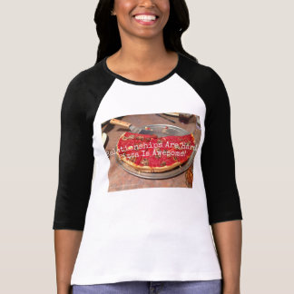 Pizza Is Awesome - 3/4 Sleeve Women's T Tshirt