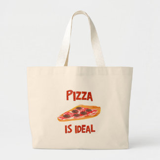 Pizza is Ideal Tote Bag