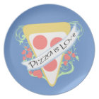 Pizza is Love Dinner Plate