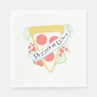 Pizza is Love Napkin
