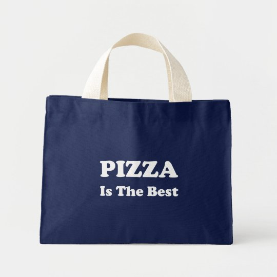 Pizza Is The Best Mini Tote Bag