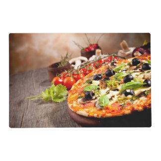 Pizza italiana fresca tapete individual
