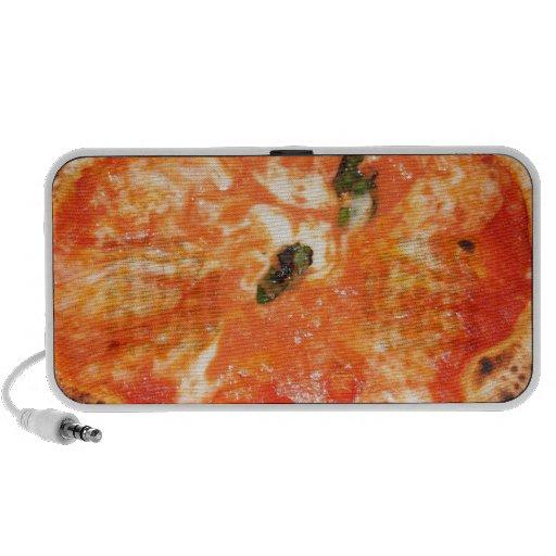 Pizza italiana Margherita Laptop Altavoz