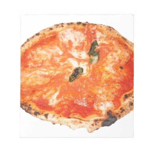Pizza italiana Margherita Blocs De Papel