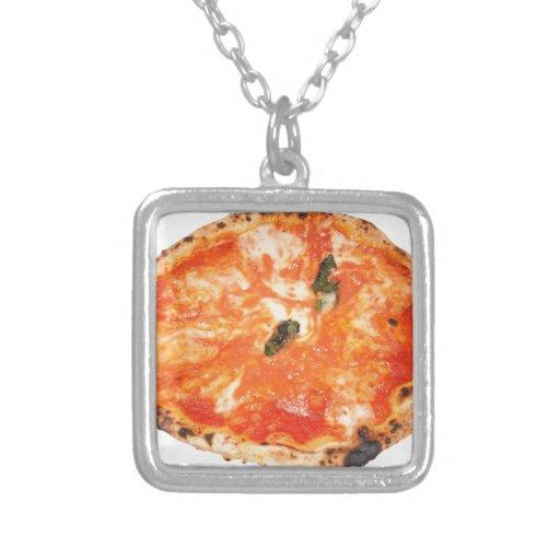 Pizza italiana Margherita Colgantes
