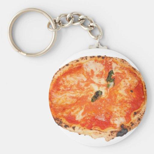 Pizza italiana Margherita Llaveros