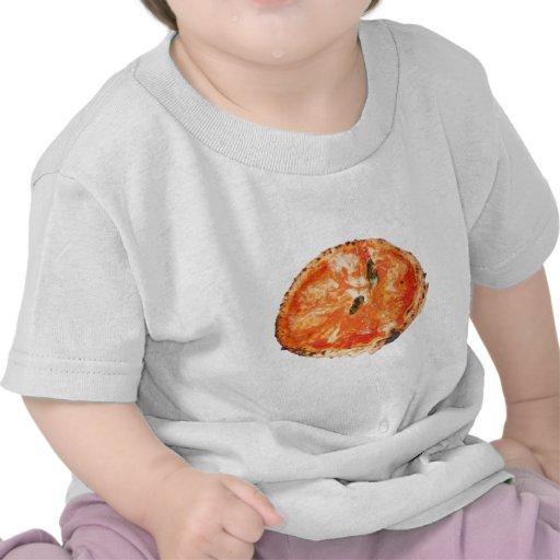 Pizza italiana Margherita Camisetas