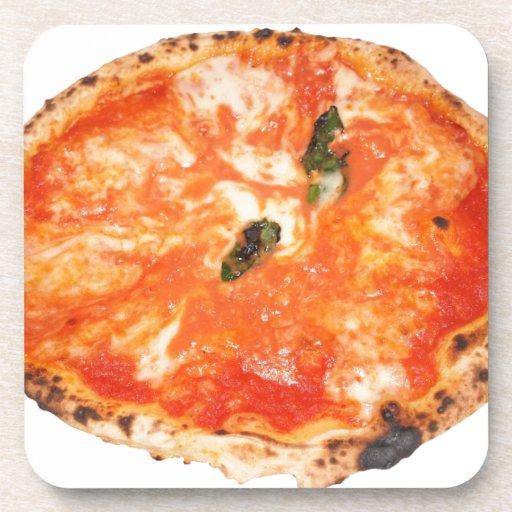 Pizza italiana Margherita Posavasos De Bebidas