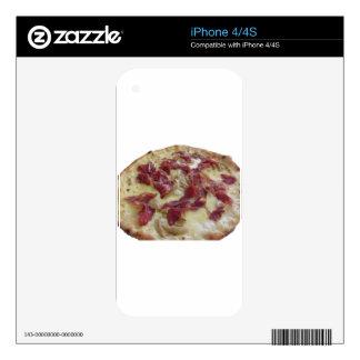 Pizza italiana original iPhone 4S calcomanía