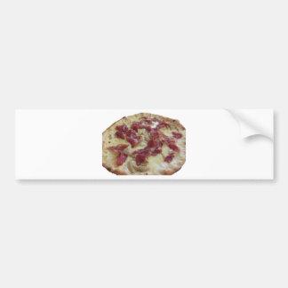 Pizza italiana original pegatina para auto
