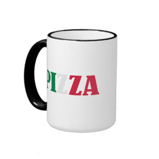 Pizza italiana taza