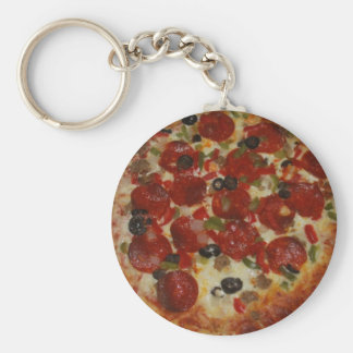 Pizza Keychain