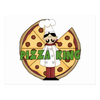 Pizza King Pizza Gift Postcard